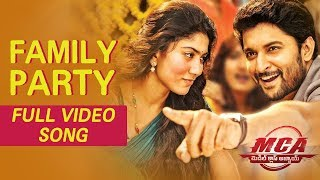 MCA Video Songs - Family Party Full Video Song - Nani, Sai Pallavi