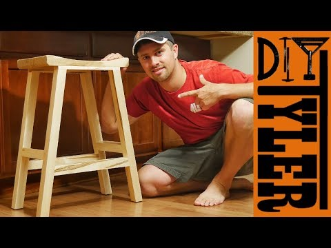 Maple Bar Stools | How to Make Bar Stools Using Loose Mortise and Tenon Joinery