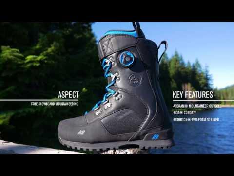 K2 ASPECT—2018 Snowboard Boots