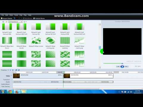 How to make the clone effect moviemaker 2013!