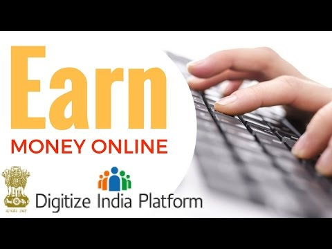 Earn money at home from Digitize India Platform by Govt (100% GENUINE)