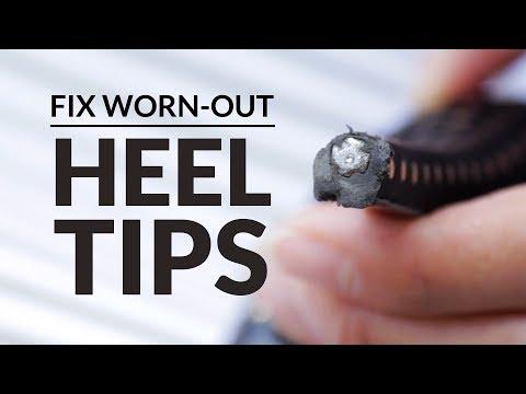 How to Instantly Repair High Heel Tips - Shoe Repair Kit