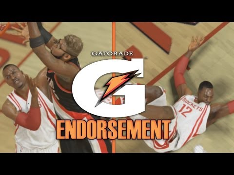 NBA 2K14 PS4 MyCAREER ~ GATORADE Endorsement ~ Dwight Gets POSTERIZED