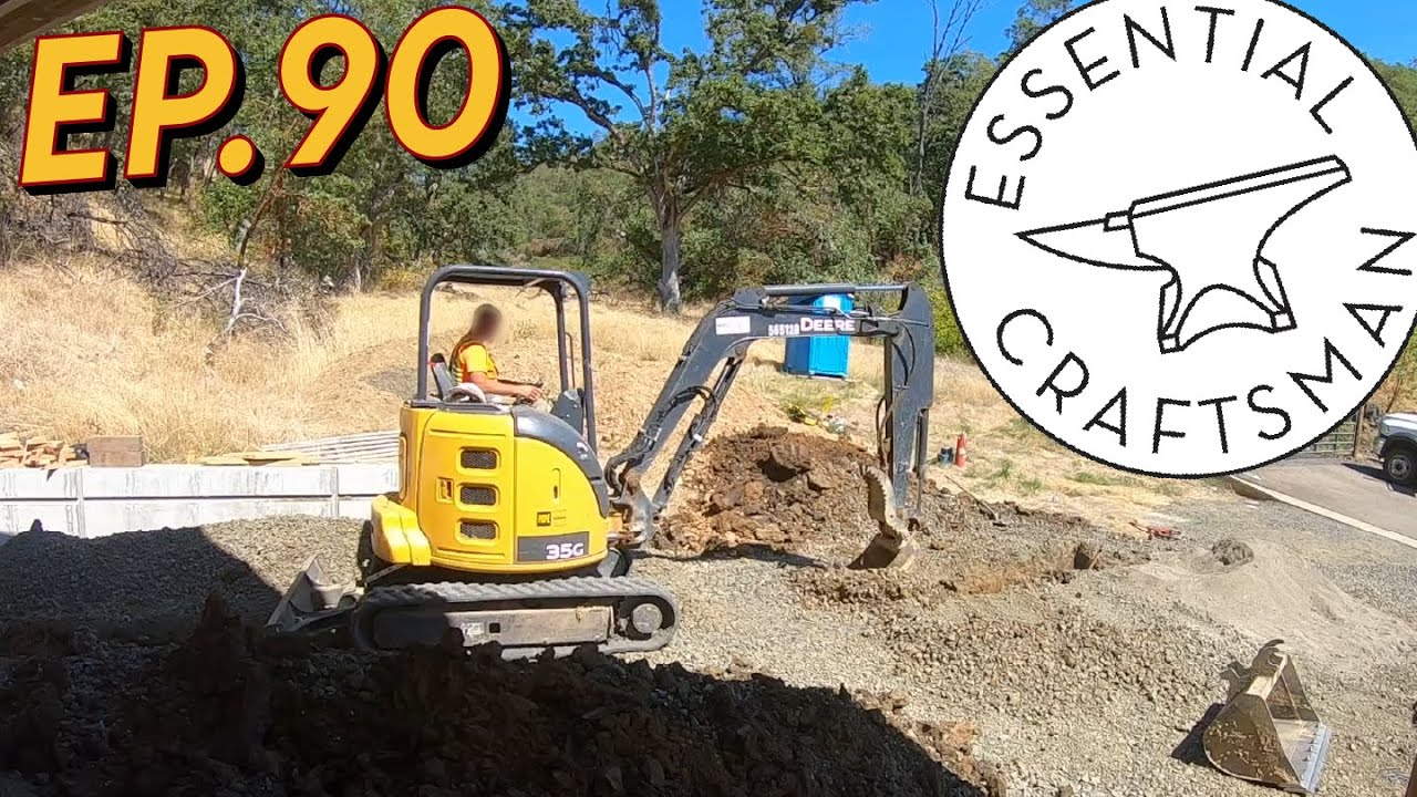 Gas Line and Meter Installation Ep.90