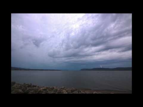 7/19/17 storms Lake Pepin Lake City, Minnesota