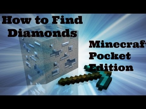 How to find diamonds in Minecraft PE 0.7.3/0.7.4