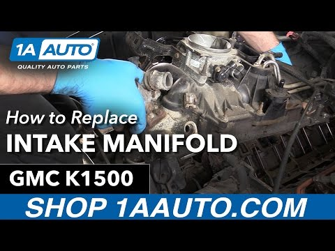 How to Replace Intake Manifold Gaskets on a 1996 GMC Sierra K1500 350 5.7L