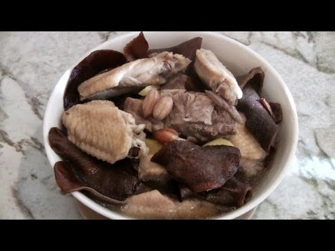 Chinese Chicken Healing Soup  (Traditional Chinese Cooking)