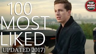 Top 100 Most LIKED Songs Of All Time (March 2017)