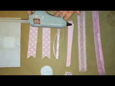 Pink Baby Shower Corsage DIY ( Do It Yourself)