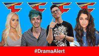 Ninja WORLD RECORD! #DramaAlert YouTube BANS GUNS, FaZe Adapt Thief EXPOSED, Tana Mongeau FaZe House