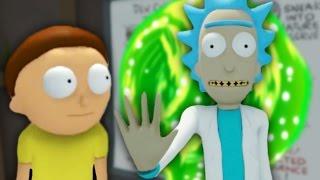 SAVING THE WORLD | Rick And Morty VR #3 (END) (HTC Vive Virtual Reality)