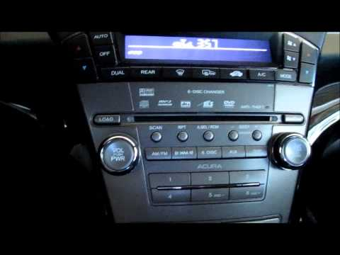 2008 Acura MDX Audio System Demo
