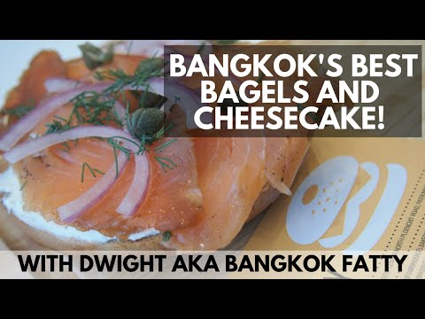 The Best Bagels and New York Style Cheesecake in Bangkok!