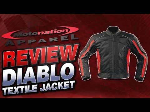 Motonation Apparel Diablo Mesh Jacket Review | Sportbike Track Gear