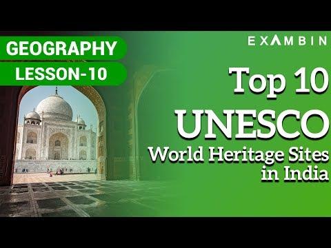 Top 10 List of UNESCO world heritage sites in India