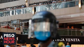 News Wrap: Controversial Hong Kong security bill becomes law
