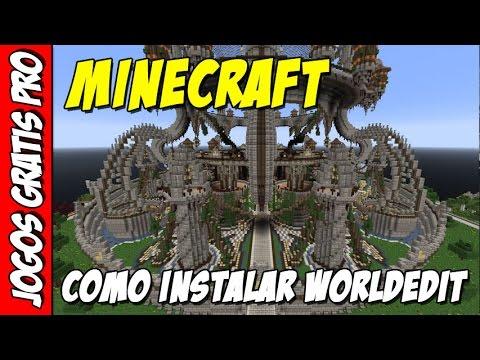 Minecraft como instalar worldedit plugin
