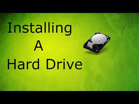 How To Install And Format A Hard Drive Into A Dell XPS 8900