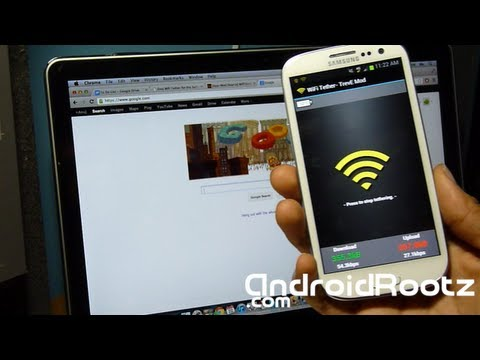 How to Get Free WiFi Tether/HotSpot on Samsung Galaxy S3 Jelly Bean!