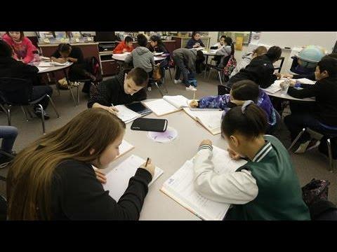 U.S. Student Test Scores Slide