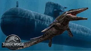 New Submarine Attack Scene Spoilers & Discussion! | Jurassic World 2 Mosasaurus