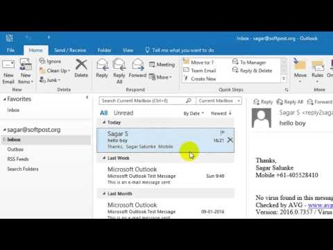 How to block email in Outlook