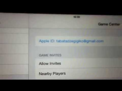 How to log out the Game Center iOS 7.1