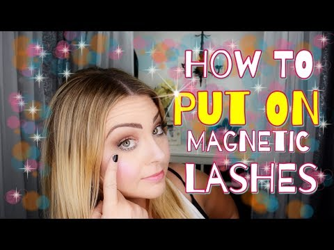 How To Put On Magnetic Lashes: 'Cause It's Actually Really Hard!