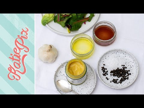 How To Make  FRENCH Salad Dressing Recipe | Katie Pix