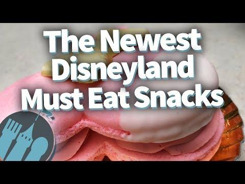 The NEWEST Disneyland MUST EAT Snacks!
