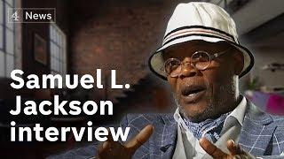 Download Samuel L. Jackson interview | Channel 4 News Video