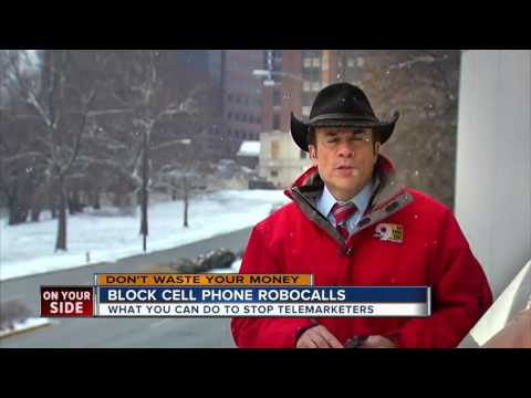 Blocking cellphone robocalls