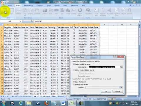 BAS 120 ex 317-3.20 Percentiles Pivot tables
