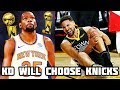 Why Kevin Durant Will Still Choose The Knicks