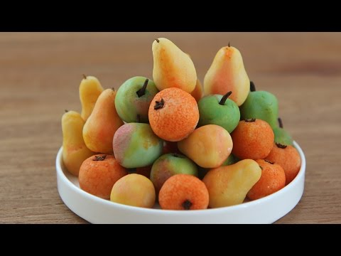 Make Marzipan Fruit | Marzipan Apples, Pears, Oranges