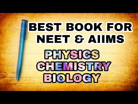 Best books for NEET 2018   best books for NEET & AIIMS preparation  by vivek pandey