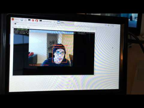 Face detection and recognition with the Raspberry Pi