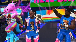 WWE: The New Days presents their newst Member - WWE 2K17