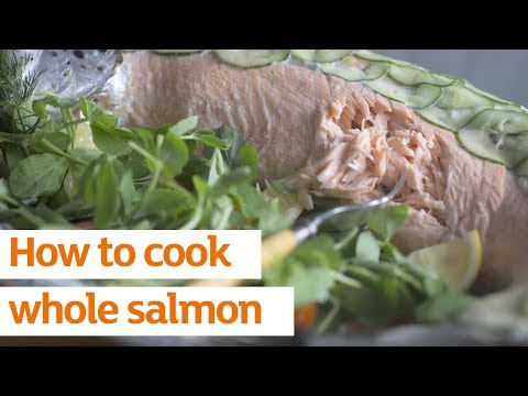 How to cook whole salmon | Recipe | Sainsbury's