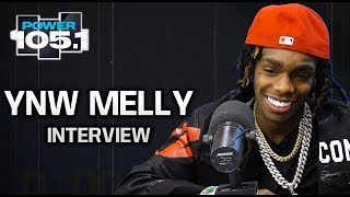 YNW Melly Talks Working With Kanye West, Losing Hope While In Jail + His Many Personalities