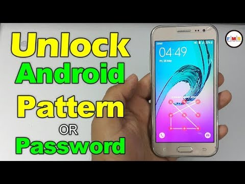 How To Unlock Android Pattern or Password,Without Pc No Software