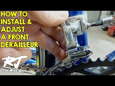 How To Install & Adjust A Front Derailleur