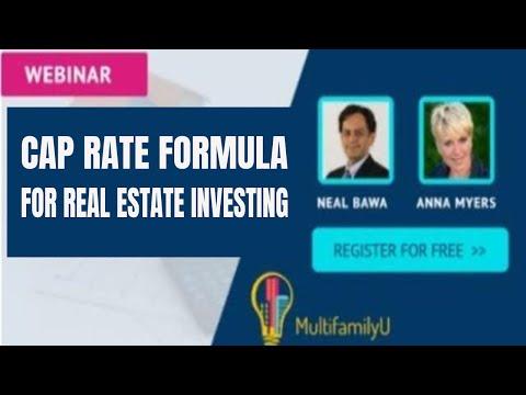 Cap Rate Formula for Real Estate Investing