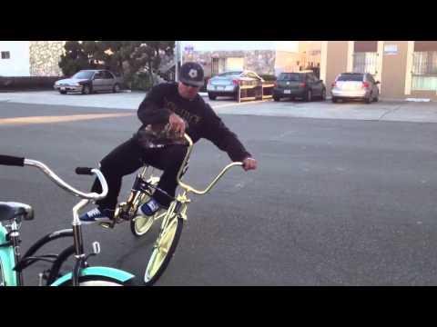 Joyride swing bike riding