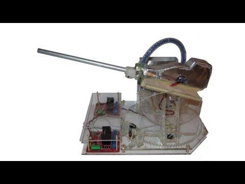 Homemade Airsoft Turret Prototype - Airsoft Sentry Gun