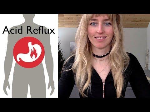 How to Cure Acid Reflux, Gerd, Heart Burn Naturally NO MEDS