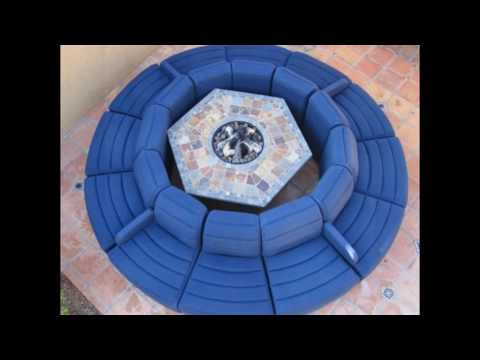 circular sofas and loveseats