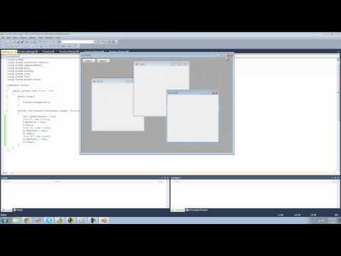 C# Beginners Tutorial - 88 - Multi Document Interface MDI