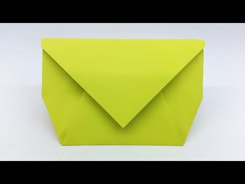 Envelope Making With Paper at Home - Easy DIY Crafts
